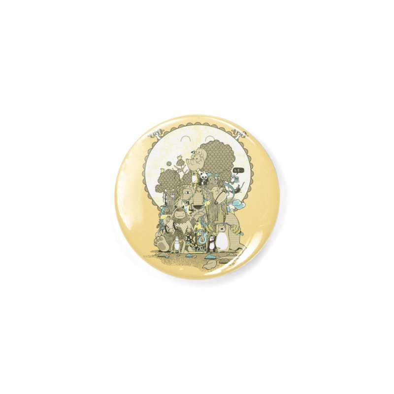King of the Jungle Gym Accessories Button by Made With Awesome