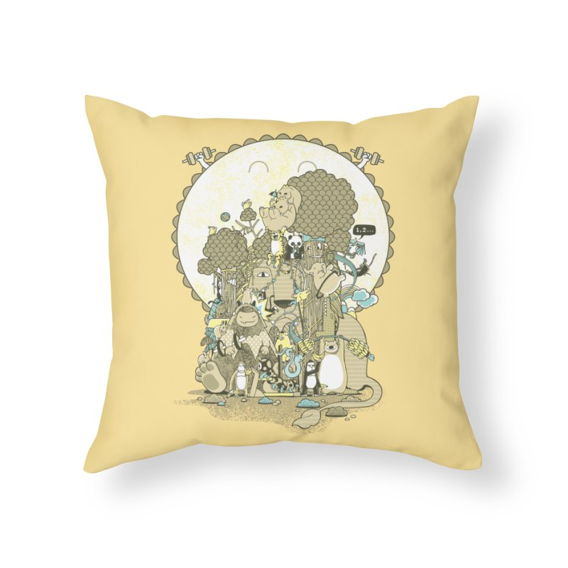 King of the Jungle Gym Home Throw Pillow by Made With Awesome