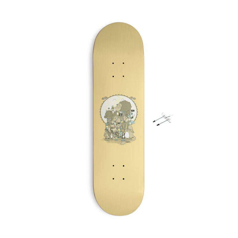 King of the Jungle Gym Accessories With Hanging Hardware Skateboard by Made With Awesome
