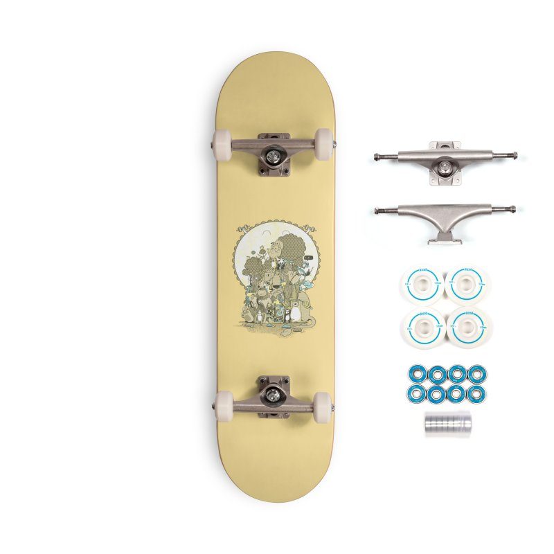 King of the Jungle Gym Accessories Complete - Basic Skateboard by Made With Awesome