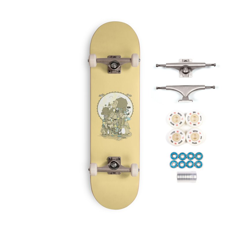 King of the Jungle Gym Accessories Complete - Premium Skateboard by Made With Awesome