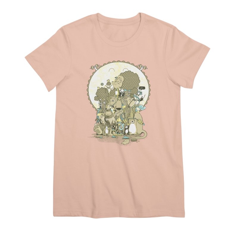 King of the Jungle Gym Women's Premium T-Shirt by Made With Awesome