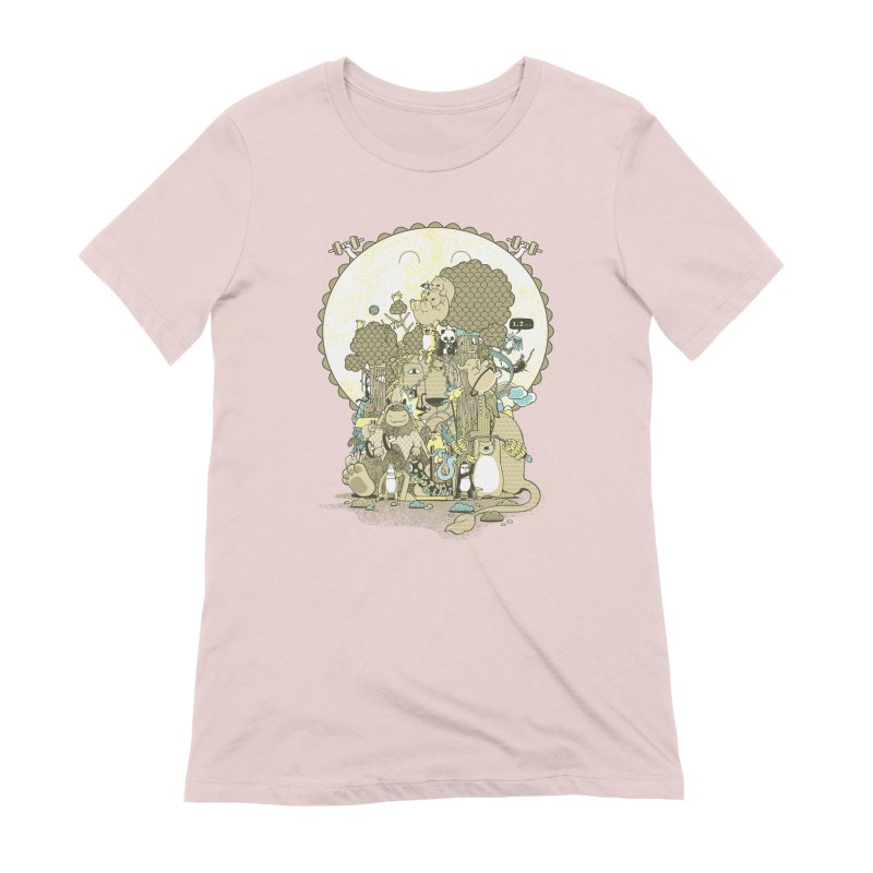 King of the Jungle Gym Women's Extra Soft T-Shirt by Made With Awesome