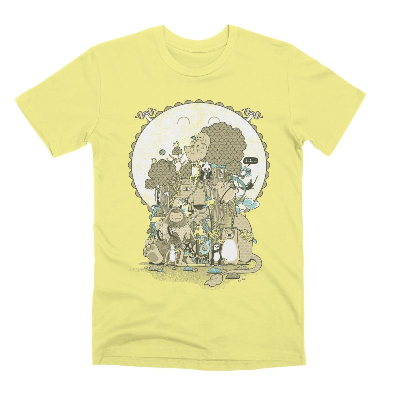 King of the Jungle Gym Men's Premium T-Shirt by Made With Awesome