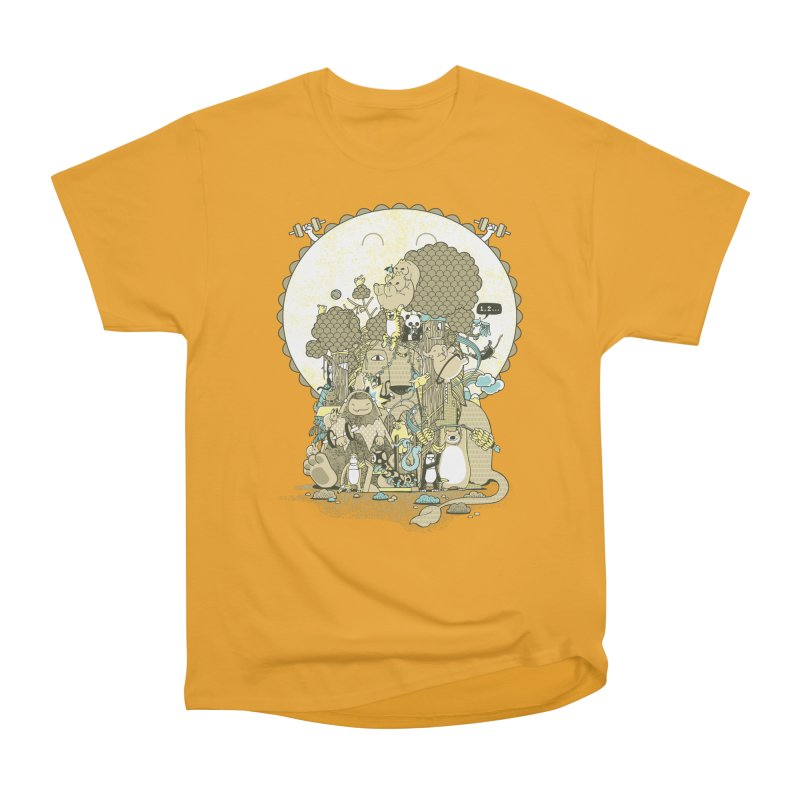 King of the Jungle Gym Men's Heavyweight T-Shirt by Made With Awesome