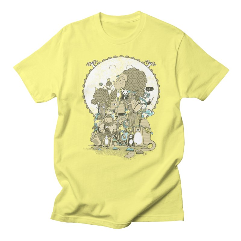 King of the Jungle Gym Men's Regular T-Shirt by Made With Awesome