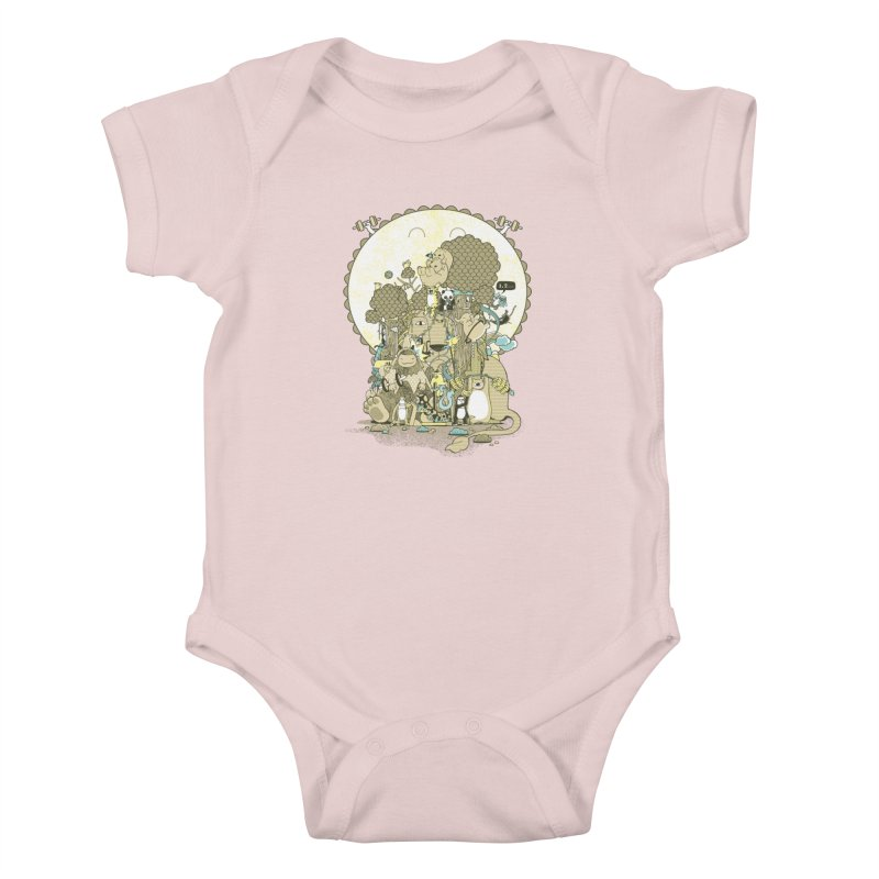 King of the Jungle Gym Kids Baby Bodysuit by Made With Awesome