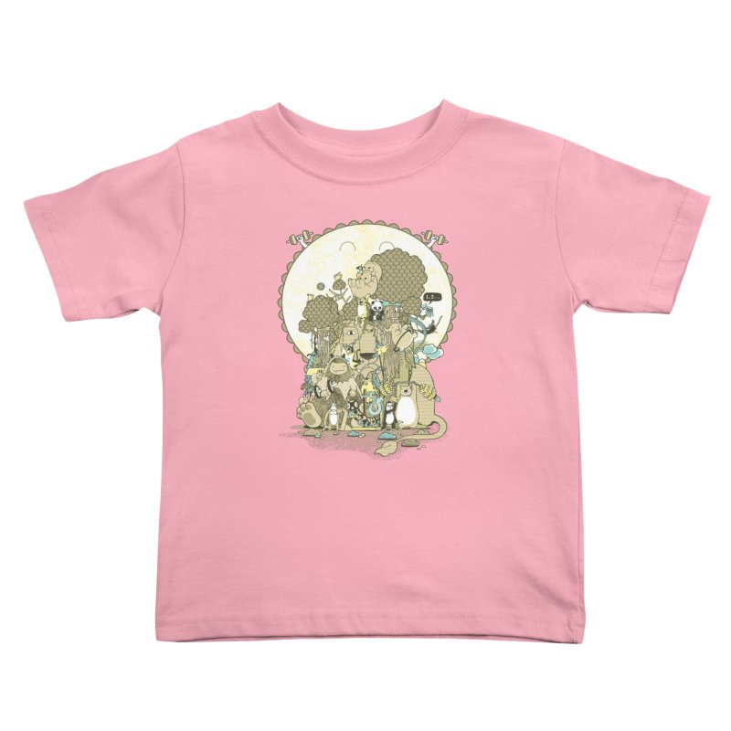 King of the Jungle Gym Kids Toddler T-Shirt by Made With Awesome