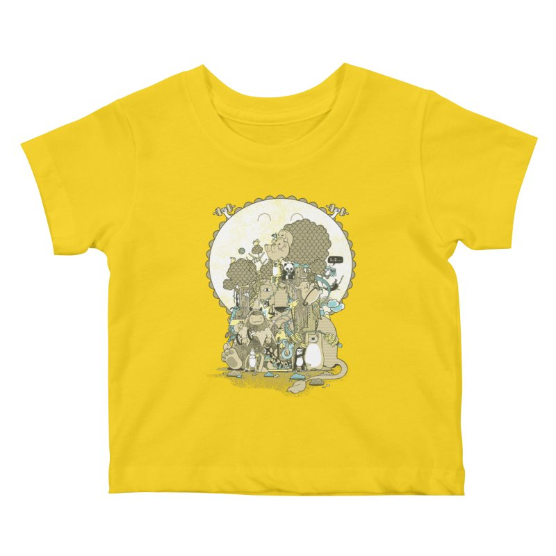 King of the Jungle Gym Kids Baby T-Shirt by Made With Awesome