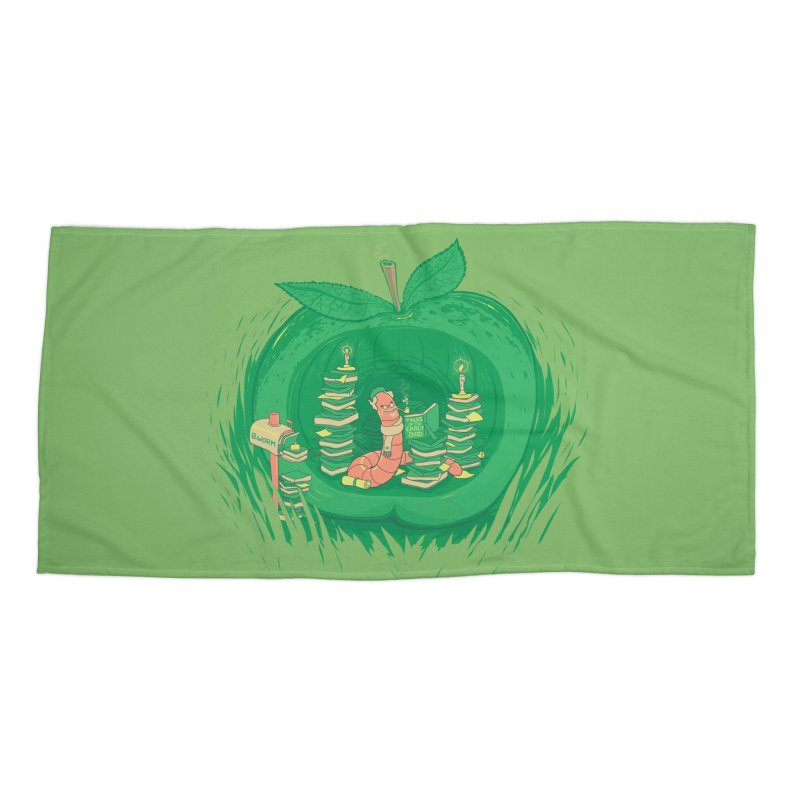 Bookworm's Haven Accessories Beach Towel by Made With Awesome