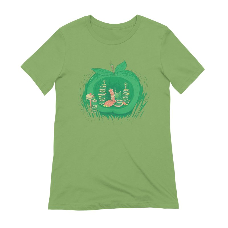 Bookworm's Haven Women's Extra Soft T-Shirt by Made With Awesome