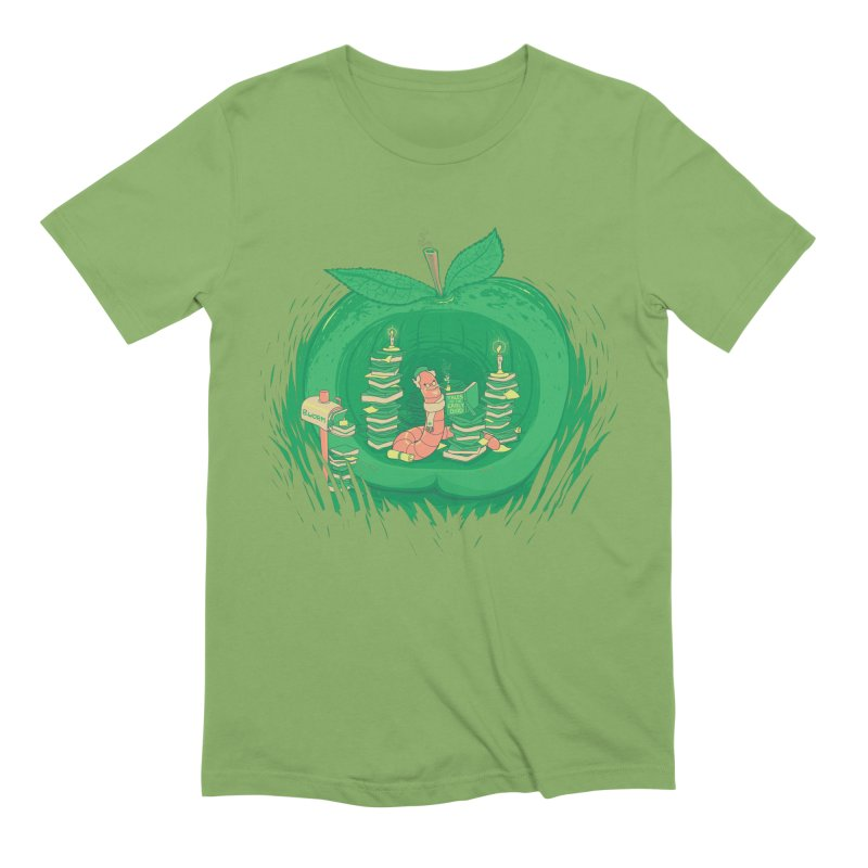 Bookworm's Haven Men's Extra Soft T-Shirt by Made With Awesome