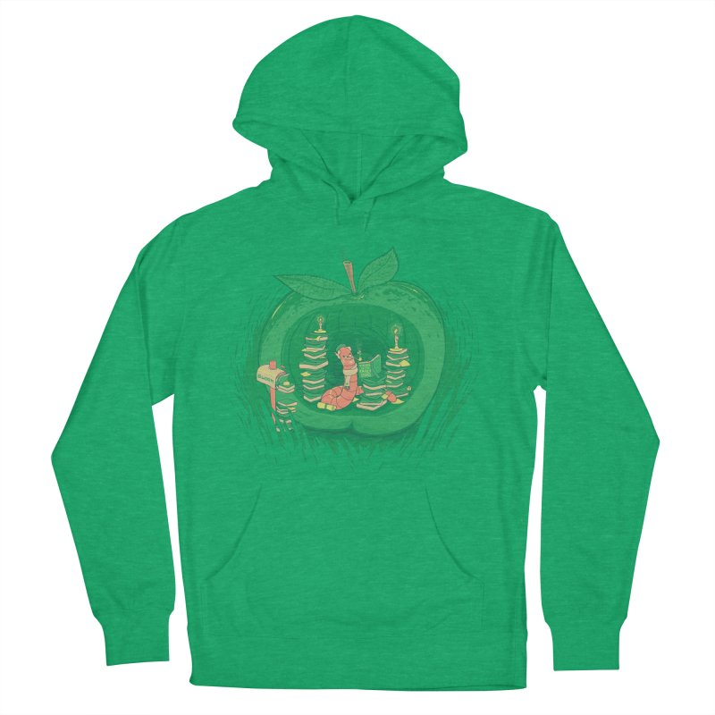 Bookworm's Haven Men's French Terry Pullover Hoody by Made With Awesome