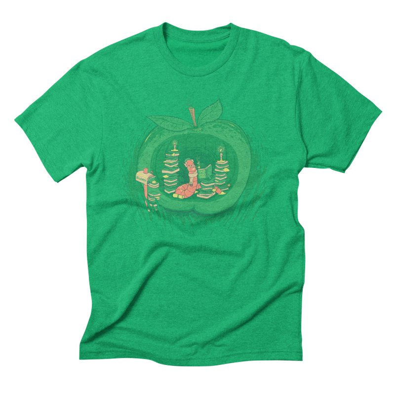Bookworm's Haven Men's Triblend T-Shirt by Made With Awesome