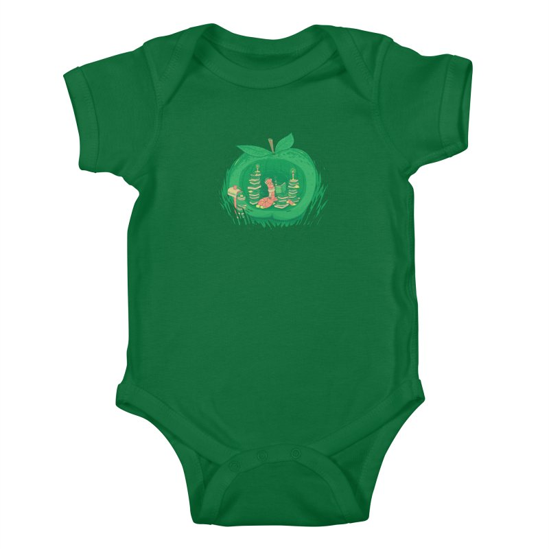 Bookworm's Haven Kids Baby Bodysuit by Made With Awesome