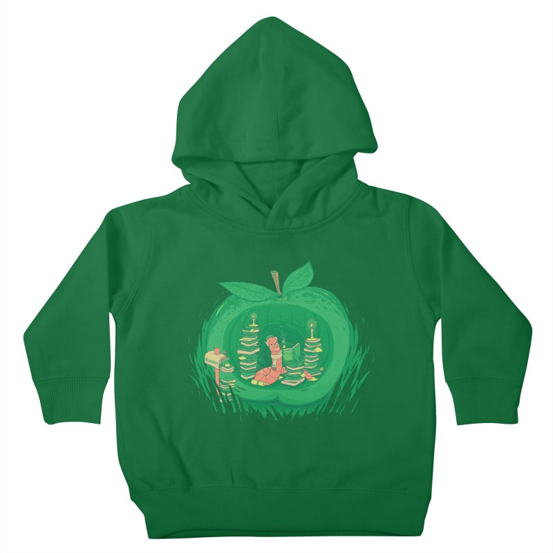 Bookworm's Haven Kids Toddler Pullover Hoody by Made With Awesome