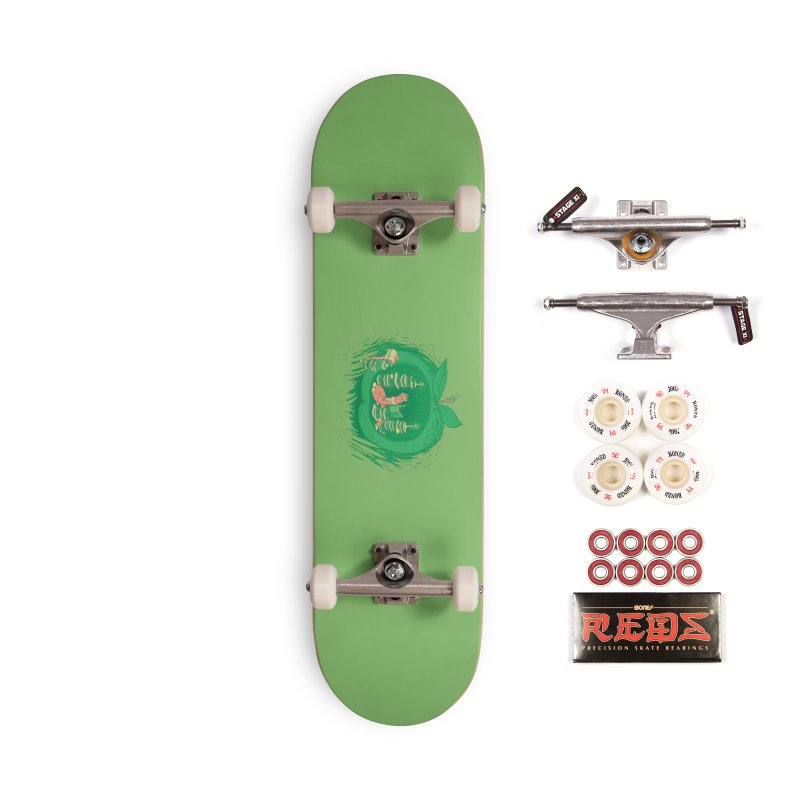 Bookworm's Haven Accessories Complete - Pro Skateboard by Made With Awesome