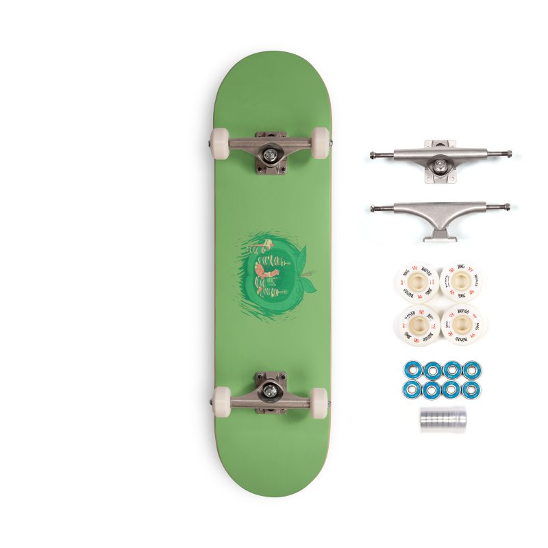 Bookworm's Haven Accessories Complete - Premium Skateboard by Made With Awesome