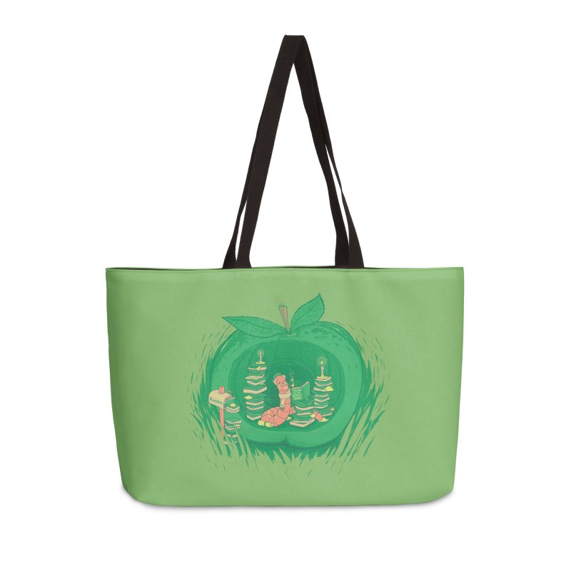 Bookworm's Haven Accessories Weekender Bag Bag by Made With Awesome