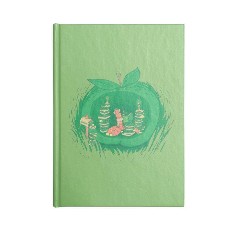 Bookworm's Haven Accessories Blank Journal Notebook by Made With Awesome