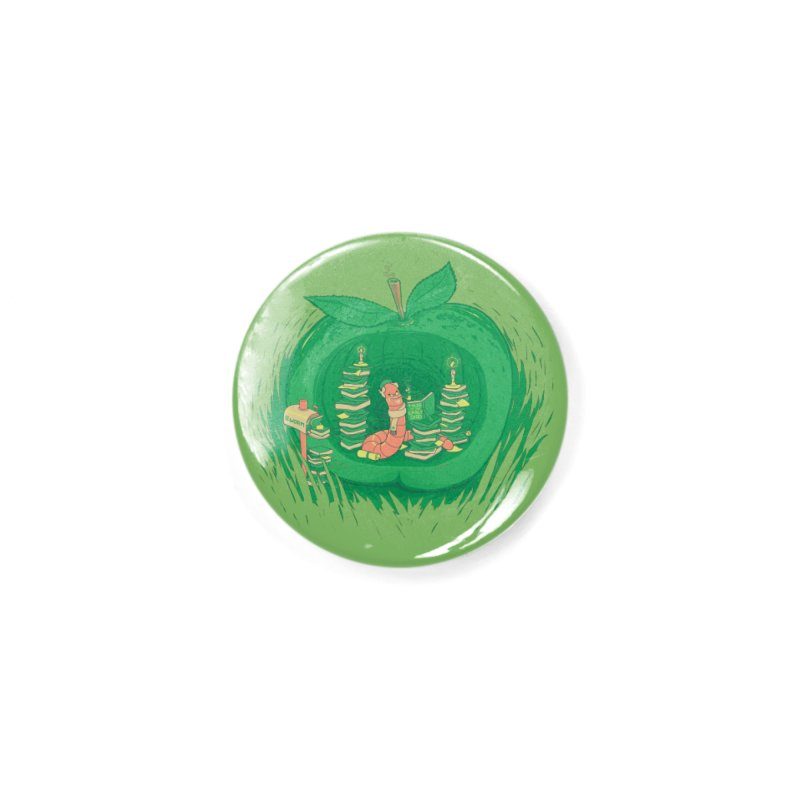 Bookworm's Haven Accessories Button by Made With Awesome