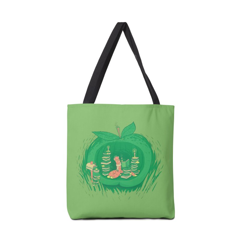 Bookworm's Haven Accessories Tote Bag Bag by Made With Awesome