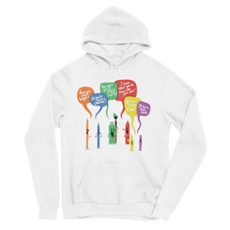 Complimentary Colors Men's Sponge Fleece Pullover Hoody by Made With Awesome