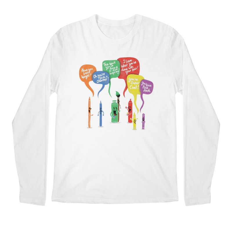 Complimentary Colors Men's Regular Longsleeve T-Shirt by Made With Awesome