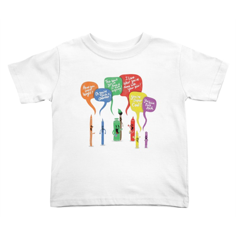 Complimentary Colors Kids Toddler T-Shirt by Made With Awesome