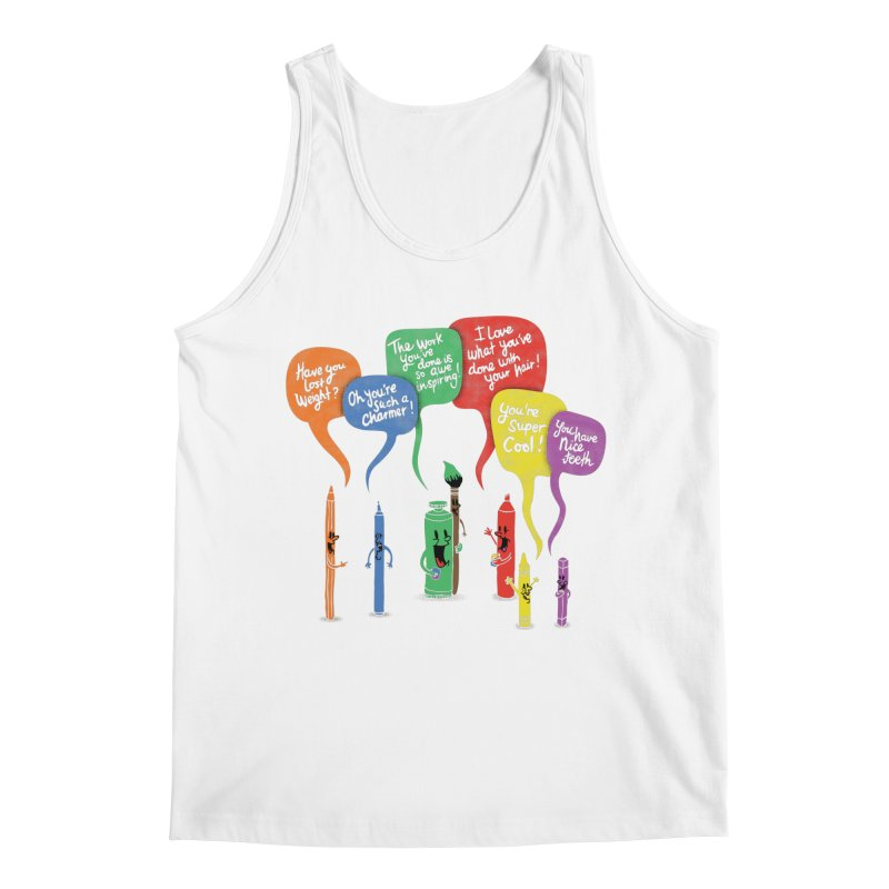 Complimentary Colors Men's Regular Tank by Made With Awesome