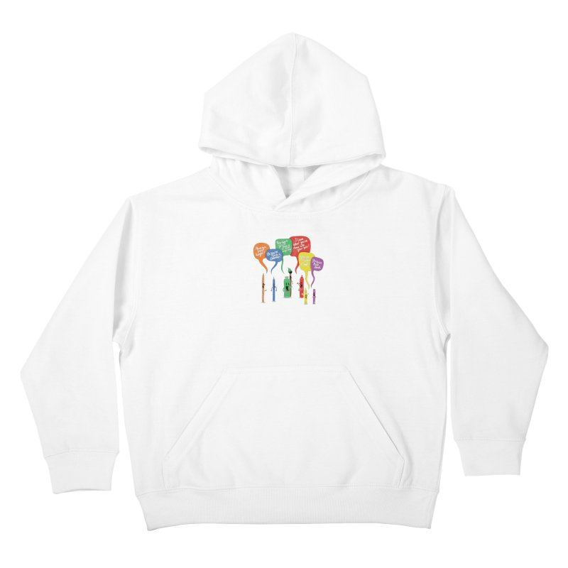 Complimentary Colors Kids Pullover Hoody by Made With Awesome