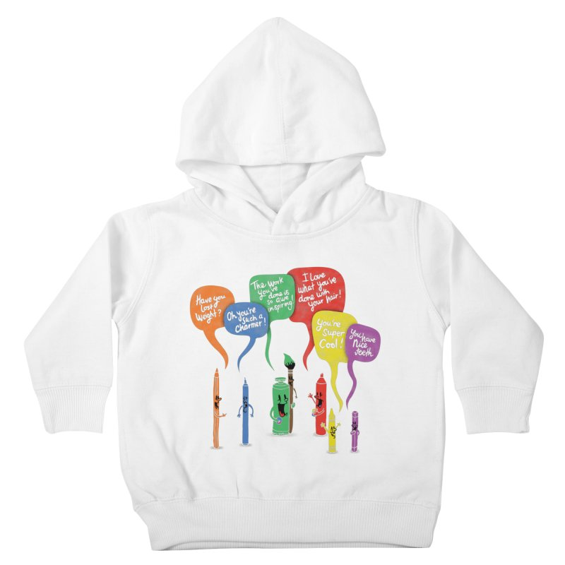 Complimentary Colors Kids Toddler Pullover Hoody by Made With Awesome