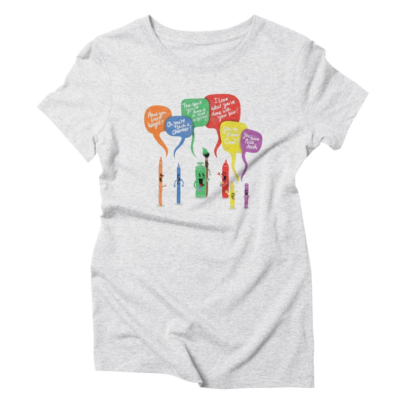 Complimentary Colors Women's Triblend T-Shirt by Made With Awesome
