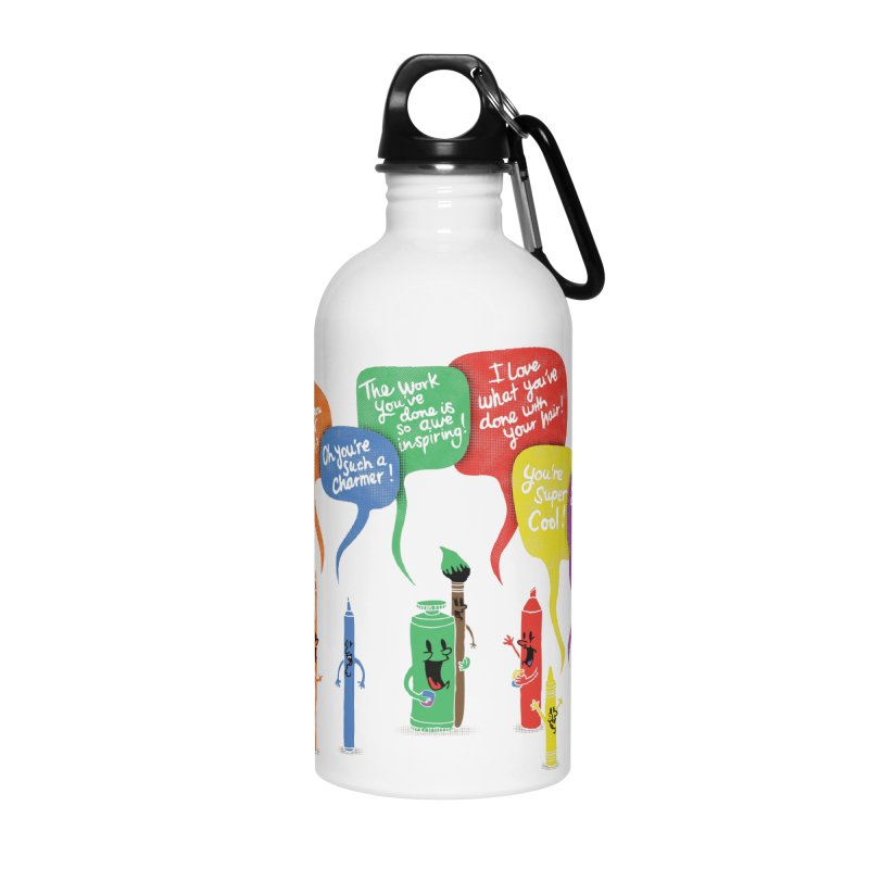 Complimentary Colors Accessories Water Bottle by Made With Awesome