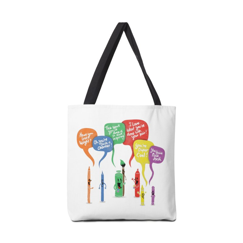 Complimentary Colors Accessories Tote Bag Bag by Made With Awesome