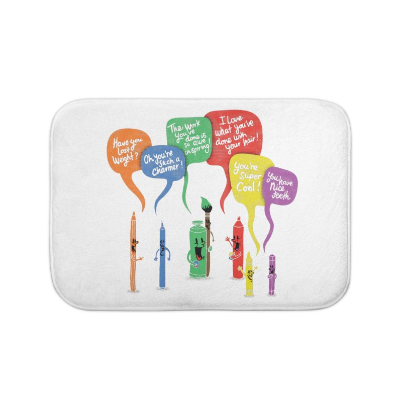 Complimentary Colors Home Bath Mat by Made With Awesome
