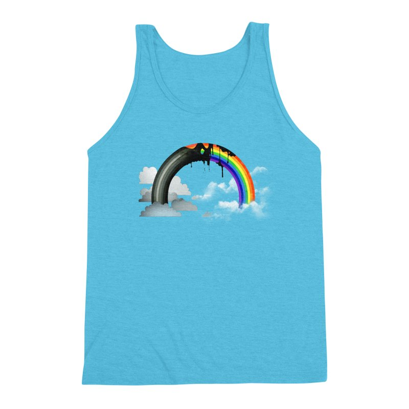 Meltbow Men's Triblend Tank by Made With Awesome
