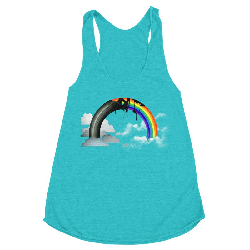 Meltbow Women's Racerback Triblend Tank by Made With Awesome