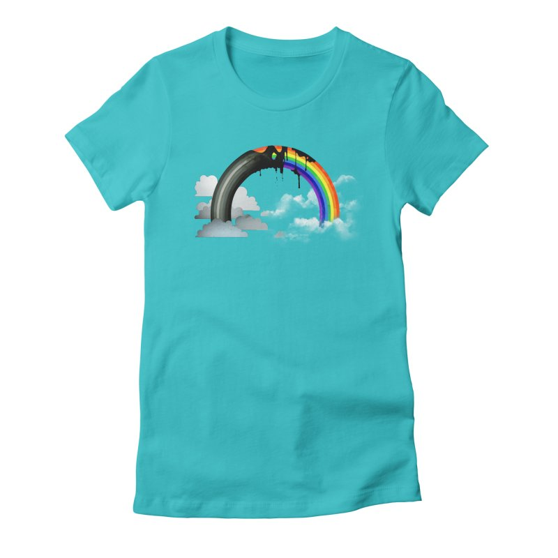 Meltbow Women's Fitted T-Shirt by Made With Awesome