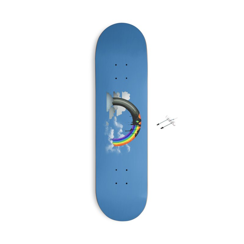 Meltbow Accessories With Hanging Hardware Skateboard by Made With Awesome