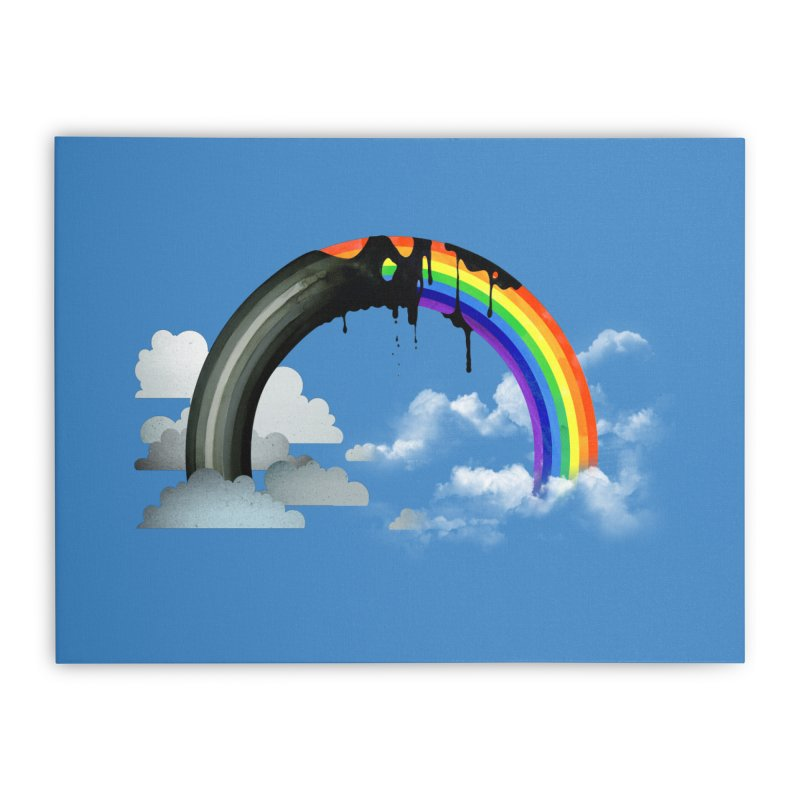 Meltbow Home Stretched Canvas by Made With Awesome