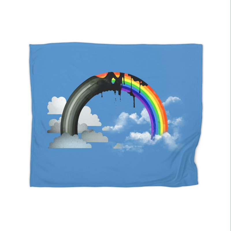 Meltbow Home Fleece Blanket Blanket by Made With Awesome