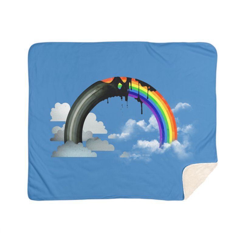 Meltbow Home Sherpa Blanket Blanket by Made With Awesome