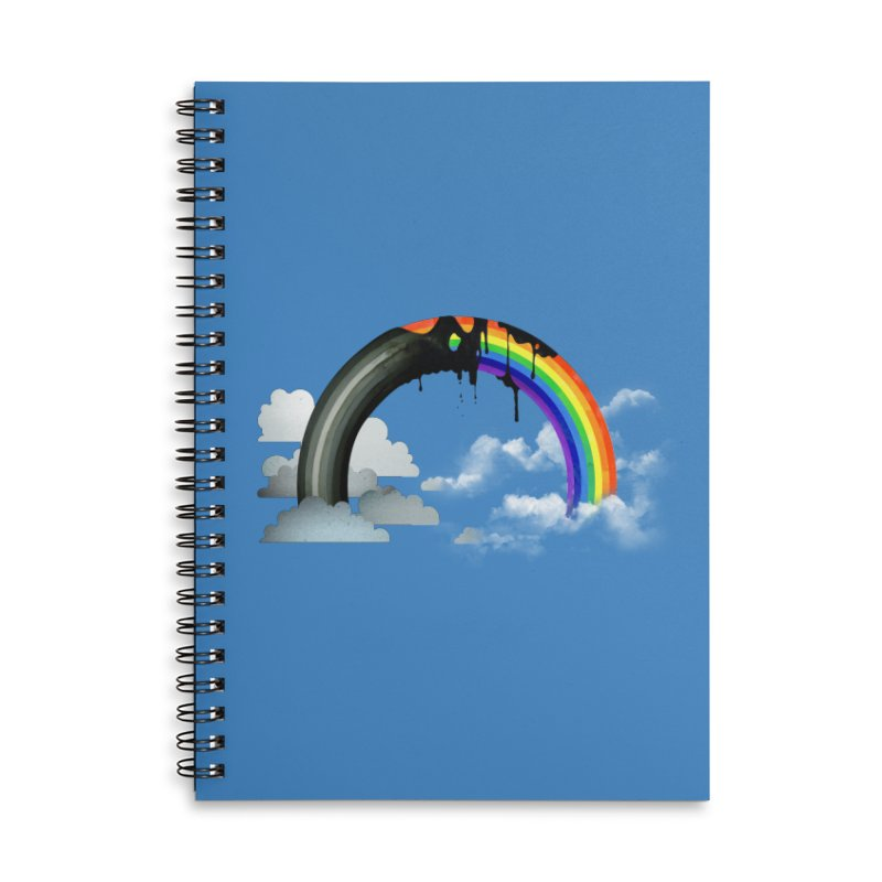 Meltbow Accessories Lined Spiral Notebook by Made With Awesome