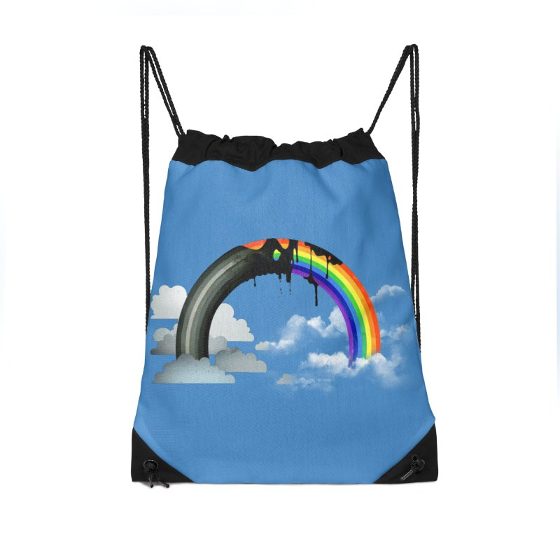 Meltbow Accessories Drawstring Bag Bag by Made With Awesome