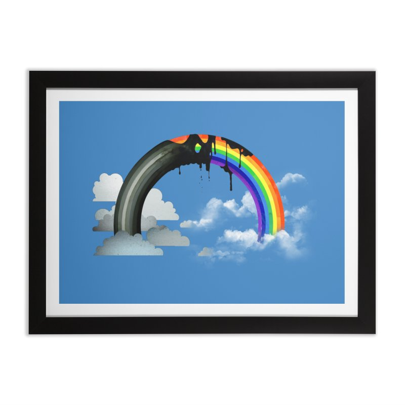 Meltbow Home Framed Fine Art Print by Made With Awesome
