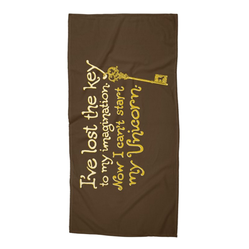 I've Lost The Key Accessories Beach Towel by Made With Awesome