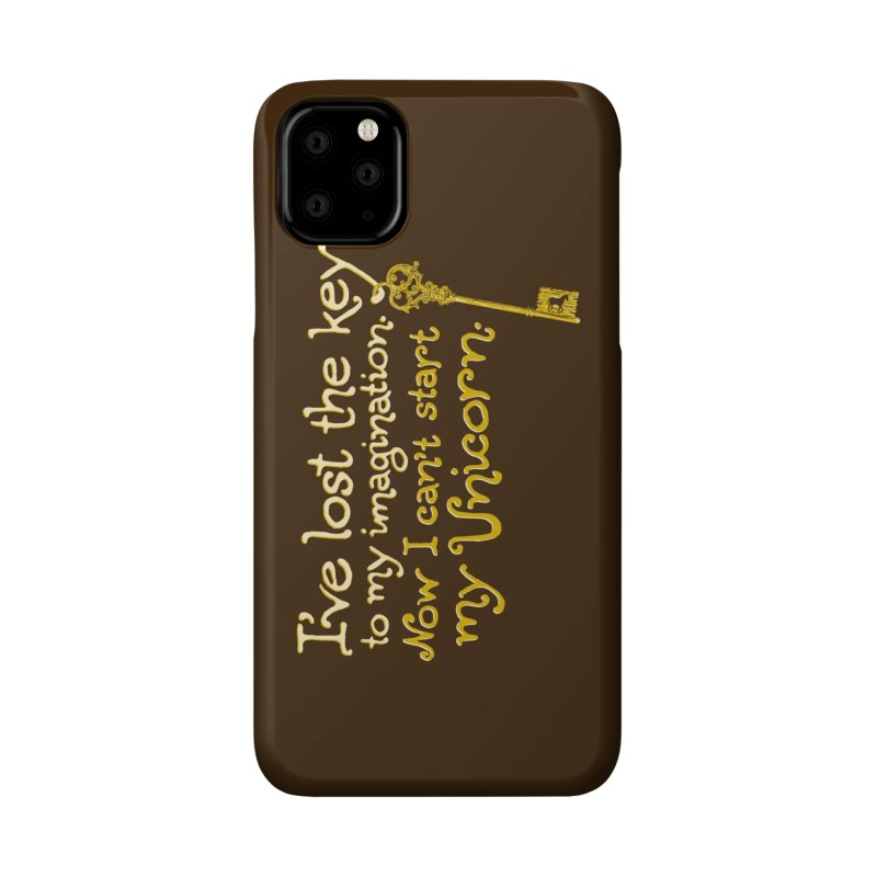 I've Lost The Key Accessories Phone Case by Made With Awesome