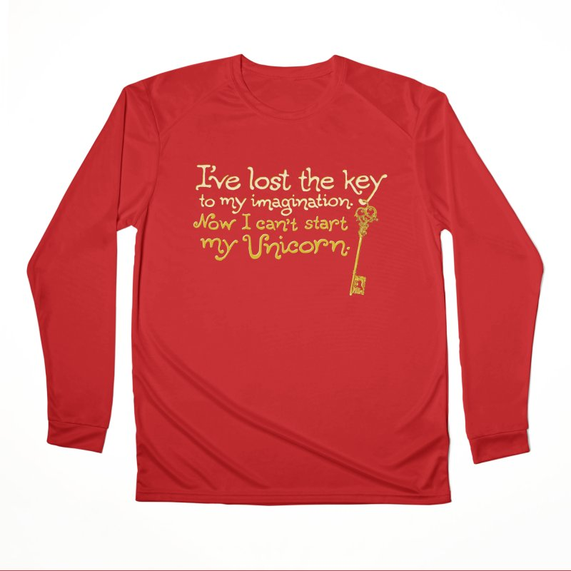 I've Lost The Key Men's Performance Longsleeve T-Shirt by Made With Awesome