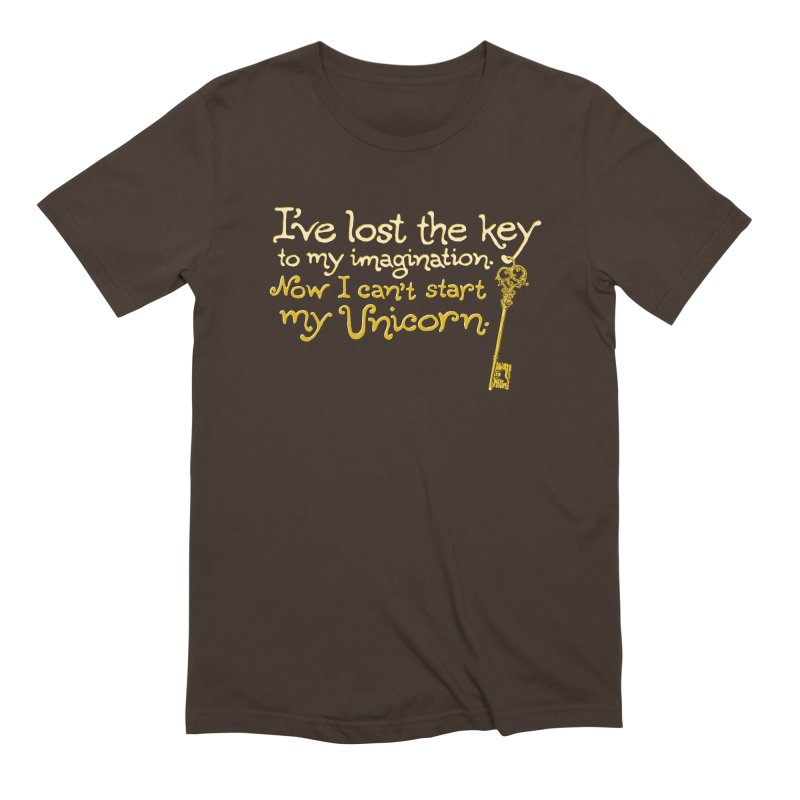 I've Lost The Key Men's Extra Soft T-Shirt by Made With Awesome